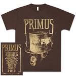 PRIMUS 2012 3D Tour T-Shirt
