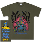 Primus Mexico City Event T-Shirt