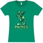 Primus Womens Green Skeeter Tee
