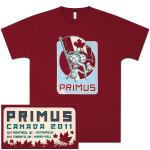 Primus 2011 Canadian Tour T-Shirt