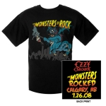 Monsters Of Rock Calgary Edition Tee