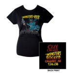 Monstrers Of Rock 2008 Calgary Edition Jr. Tee