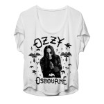 Ozzy Ladies Slip On Tee