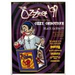 Ozzfest 1997 Ozzfest Tour Poster