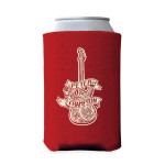 Peter Frampton Guitar Coozie Red