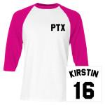Kirstin Baseball Jersey Tee