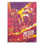Limited Edition 7/28/2015 Austin, TX Poster