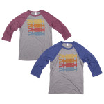 Phish Way Out West Baseball T