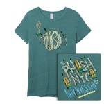 Women's Confetti Cleanup NYE Run Event T on Eco Green