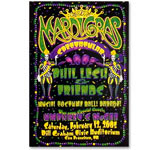 Phil Lesh & Friends Mardi Gras Event Poster