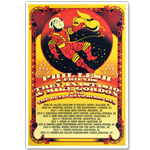 Phil Lesh & Friends / Trey Anastasio & Mike Gordon Summer Tour Event Poster