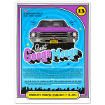Googa Mooga Screen Printed Car Poster