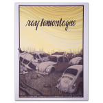 Ray LaMontagne 2014 Portland, ME Event Poster