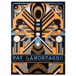 Ray LaMontagne 2014 Camden, NJ Event Poster