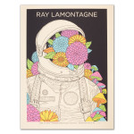 Ray LaMontagne 2014 Rochester Hills, MI Event Poster