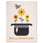 Ray LaMontagne 2014 Toronto, Ontario Event Poster