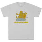 Ray LaMontagne Boat Unisex Silver T-shirt