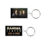 Live & Loud Photo Keychain