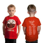 Roger Waters The Wall Live-Kids Red Hammers T-Shirt