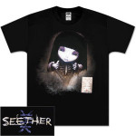 Seether 'Finding Beauty in Negative Spaces' Men's T-Shirt