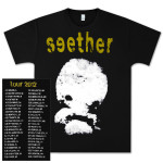 Seether Alien Photo Shirt