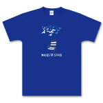 Royal Blue Deck Chair T-Shirt