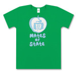 Ladies Kelly Green Apple T-Shirt