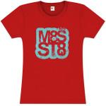 Mates of State Women's M8S ST8 Logo T-Shirt