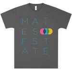 Mates Of State Men's Stretch Font T-Shirt