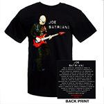 Joe Satriani Wormhole 2010/11 Tour Tee