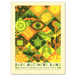 DMB South America Tour Poster