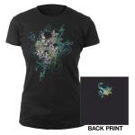 Seether Girls Skull T-Shirt