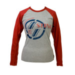 Sting Ladies Red Sleeve Luxury Raglan