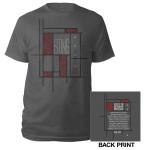 Sting Back To Bass Tour 2013 Squares Shirt