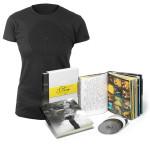 NEW - BOX SET & WOMEN'S BLACK LABYRINTH TEE  BUNDLE SPECIAL - $139.95
