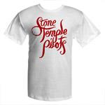 Stone Temple Pilots Script Logo Tee
