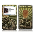 System Of A Down Thumbprint Soldier iPod Classic Skin
