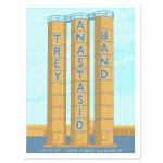 Trey Anastasio Band Cleveland LE Poster
