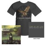 3 Doors Down Time Of My Life Tee & Digi Album Bundle