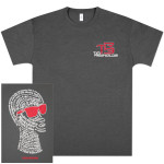 TR3 Filipo Short Sleeve T-Shirt - Charcoal Grey