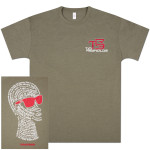 TR3 Filipo Short Sleeve T-Shirt - Olive Green