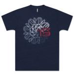 TR3 Spiral T-Shirt - Blue