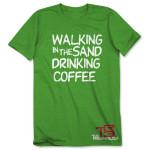 TR3 Walking in the Sand T-Shirt - Heather Irish Green