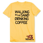 TR3 Walking in the Sand T-Shirt - Honey