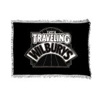 Traveling Wilburys Logo Throw Blanket
