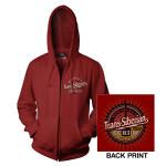Cardinal Red TSO Zip-Up Hoodie