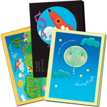 Laurie Berkner Note Card Set of 12