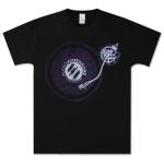 Audio Adrenaline Turntable Black T-Shirt