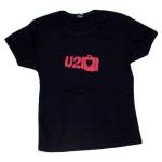 U2 Suitcase Logo Babydoll Shirt