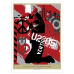 'Vertigo 05/U2 Live From Chicago' DVD Lithograph